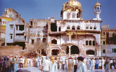 UK Government's involvement in 1984 attack on Sri Darbar Sahib
