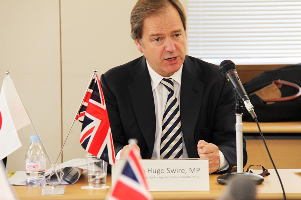 BSCF Letter to the Minister of State at the Foreign and Commonwealth Office