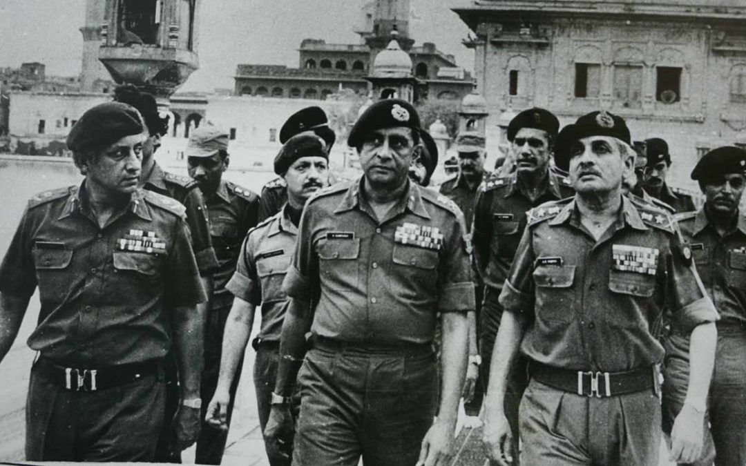 SAS involvement in attack on Golden Temple.  BSCF call for change in Foreign Policy