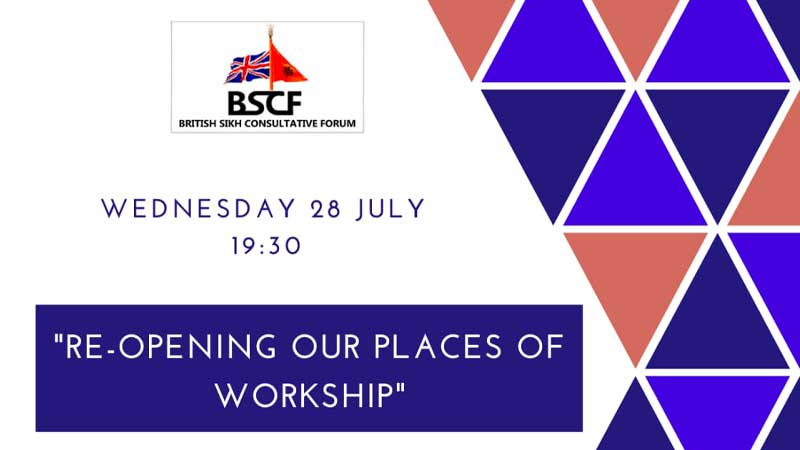 Wednesday 28th July 2021 - Re-opening our places of worship